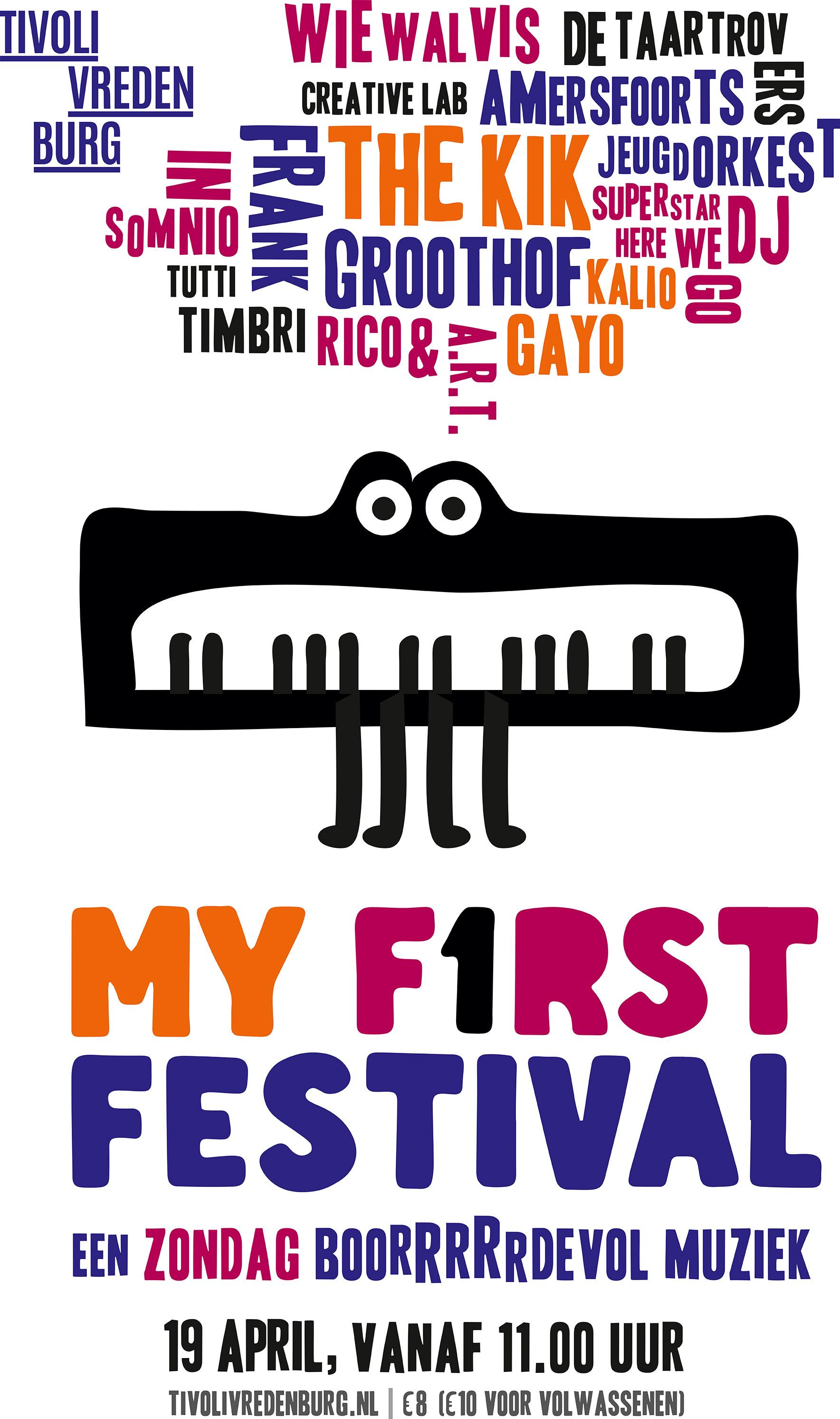 My First Festival Tivolivredenburg