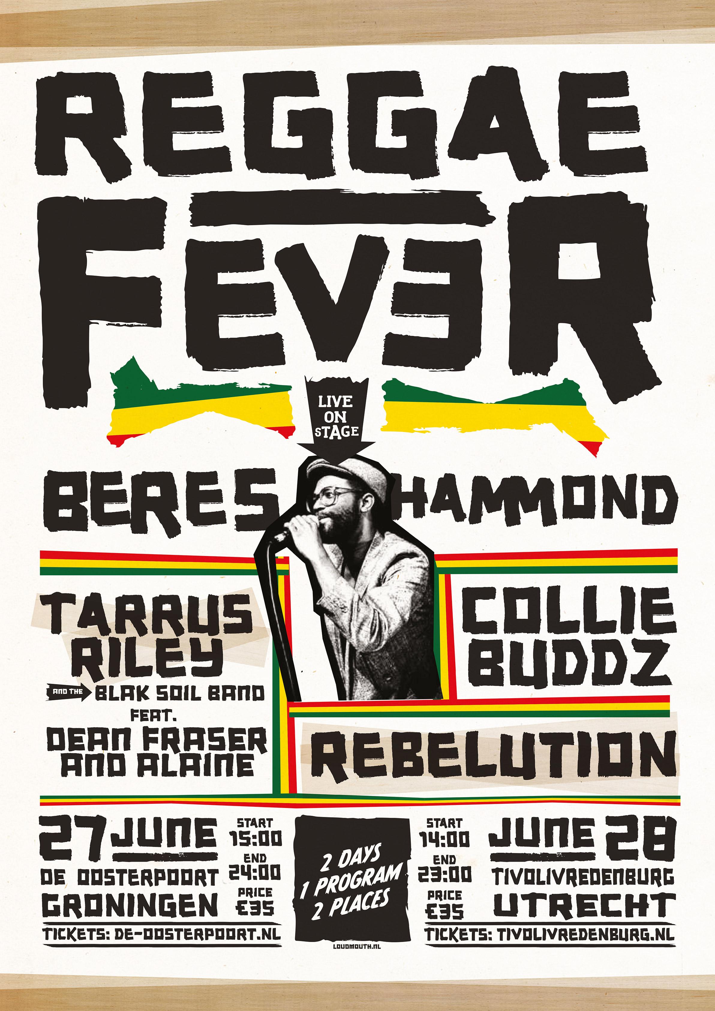 Reggae Fever - TivoliVredenburg